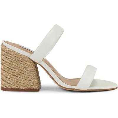 スティーブ マデン Steve Madden レディース サンダル・ミュール シューズ・靴 Marcella Mule White Leather