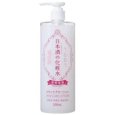 日本酒 肌に優しい 酒 フェイスケア アットコスメ 菊正宗酒造 日本酒の化粧水 透明保湿 087