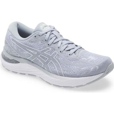 アシックス ASICS レディース ランニング・ウォーキング シューズ・靴 GEL-Cumulus 23 Running Shoe Piedmont Grey/White