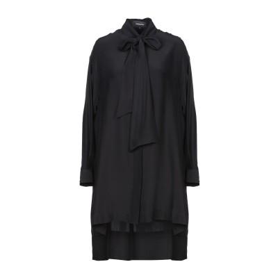 バルバラビュイ BARBARA BUI ミニワンピース&ドレス ブラック 1 シルク 100% ミニワンピース&ドレス