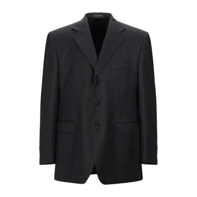LUBIAM テーラードジャケット スチールグレー 54 スーパー100 ウール テーラードジャケット