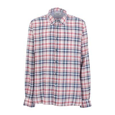 フレッド メロー FRED MELLO シャツ レッド XXL リネン 55% / コットン 45% シャツ