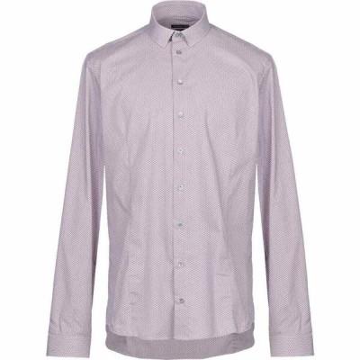 パトリツィア ペペ PATRIZIA PEPE メンズ シャツ トップス patterned shirt Maroon