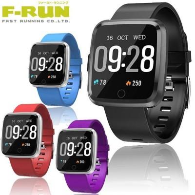 F-RUN(エフラン) スポーツウォッチ スマートウォッチ CS-1 CS1 腕時計