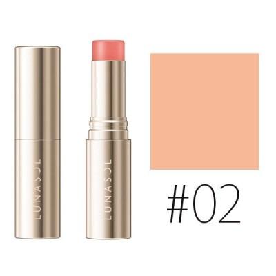カネボウ ルナソル (#02)カラースティック #Sheer Orange 5.2g(W_30)