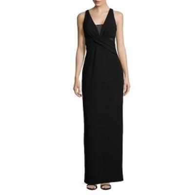 JS コレクションズ レディース ワンピース Wrap Floor-Length Gown