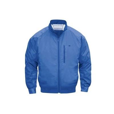NSP NA-101空調服(S)立ち襟チタン(服) ブルー L 554582397505598 0