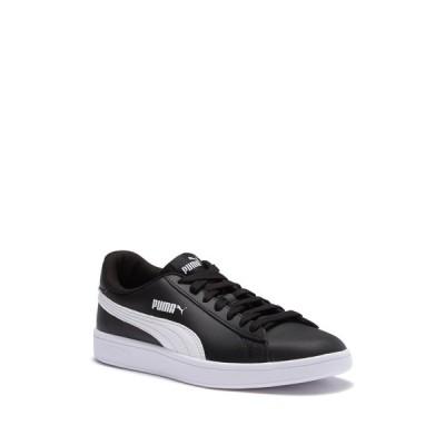 プーマ メンズ スニーカー シューズ Smash V2 Leather Sneaker BLACK