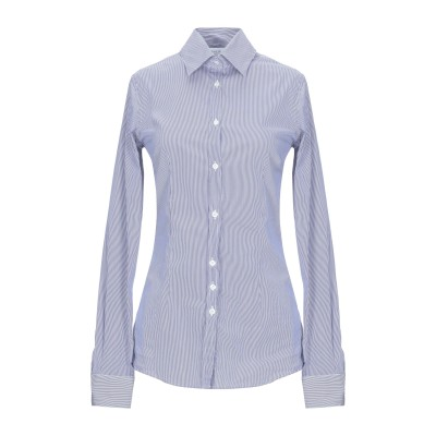 アリーニ AGLINI シャツ ブルー 40 コットン 84% / NAS® 11% / ポリウレタン 5% シャツ