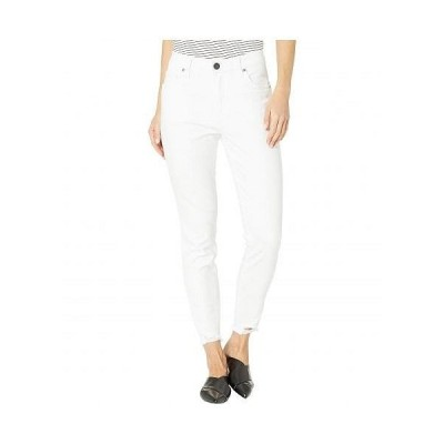 KUT from the Kloth カットフロムザクロス レディース 女性用 ファッション ジーンズ デニム Connie High-Rise Ankle Skinny in Optic White - Optic White