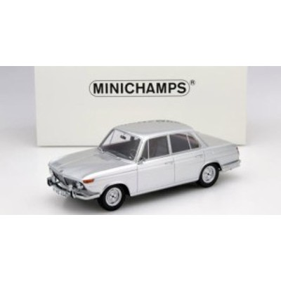 ミニチャンプス 107024000 1/18 BMW 1800 TI 1965 シルバー