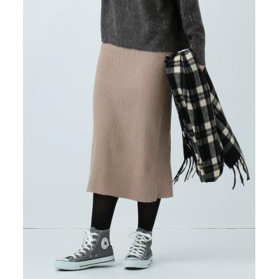 SHARE PARK LADIES(シェアパークレディース)/【1/10お値下げ】リブニットタイト スカート