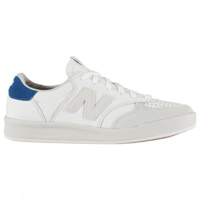 ニューバランス New Balance メンズ スニーカー シューズ・靴 300 Leather Trainers Cream/White