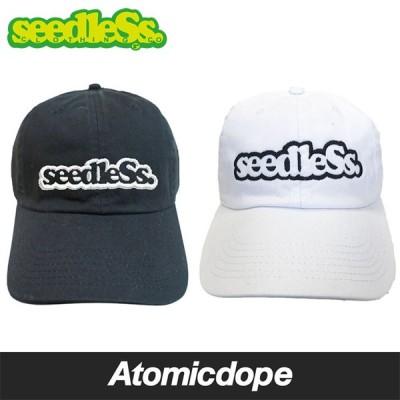 シードレス seedleSs sd ローキャップ 帽子 黒 白 New Hattan low cap Black White フリーサイズ