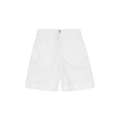 8 by YOOX パンツ ホワイト 10 コットン 100% パンツ