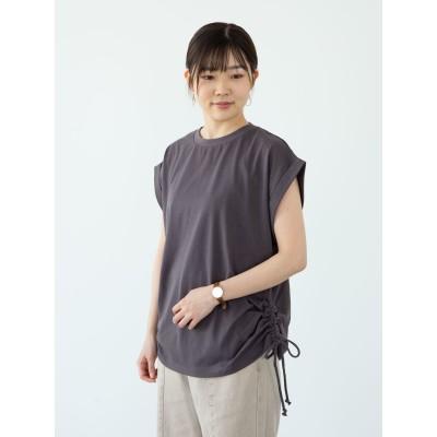 ・RAY CASSIN サイドドロストフレンチTシャツ