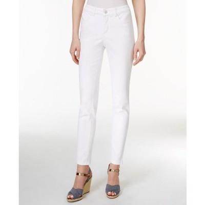 チャータークラブ デニムパンツ ボトムス レディース Bristol Skinny Ankle Jeans Bright White