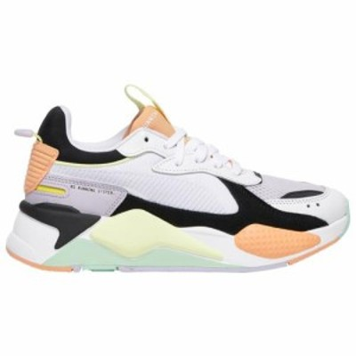 (取寄)プーマ レディース シューズ プーマ RS-XWomen's Shoes PUMA RS-XWhite Purple Heather Cantaloupe