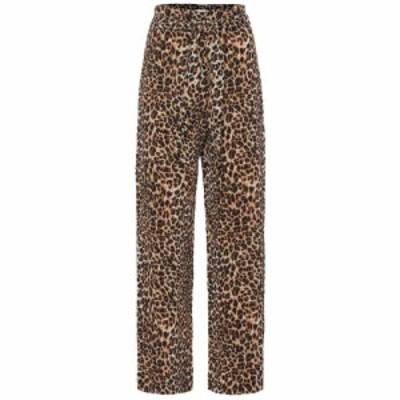 ナヌシュカ Nanushka レディース ボトムス・パンツ Luma leopard-printed pants Ocelot