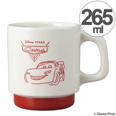 マグカップ カーズ スケッチマグ 265ml 陶器 食器 スタッキング キャラクター ( 食洗機対応 カップ 電子レンジ対応 マグ コップ CARS )
