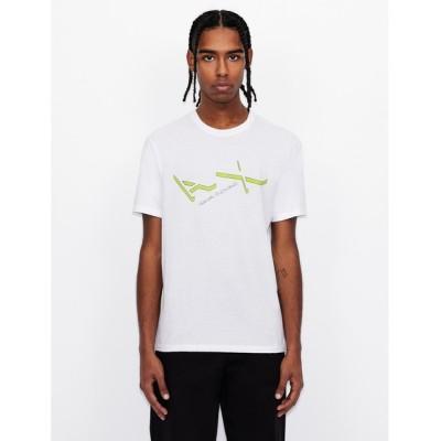 tシャツ Tシャツ 【A|X アルマーニ エクスチェンジ】AXロゴ 半袖クルーネックTシャツ/REGULAR