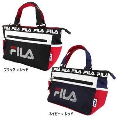 【送料無料】 フィラ FILA メンズ レディース キャリングトートバッグ バッグ 鞄 ロゴ ラウンドバッグ サブバッグ 軽量 おでかけ FL-0012