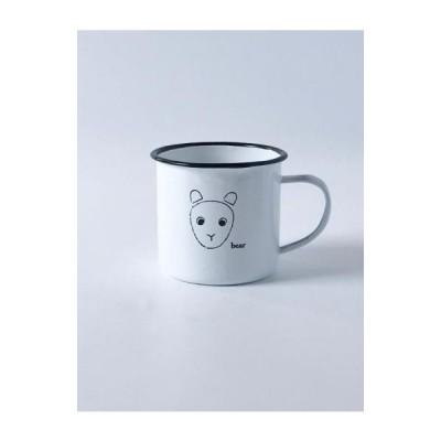 マグカップ ホーローマグカップ おしゃれ かわいい アクシス AXCIS ホーロー製品 マグ・カップ ベアマグ A855