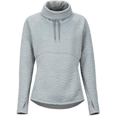 マーモット Marmot レディース スウェット・トレーナー トップス Annie L/S Sweatshirt Grey Storm