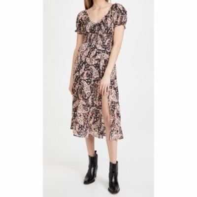 ラヒ Rahi レディース ワンピース ミドル丈 ワンピース・ドレス Shiloh Midi Dress Black Paisley
