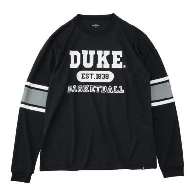 スポルディング SPALDING SMT191300 メンズ バスケットボールウェア ロングTシャツ L/S Tシャツ デュークスリーブライン