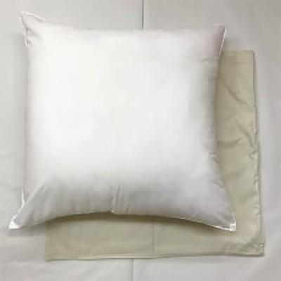 上半身が包み込まれる大判枕 枕カバー アイボリー2枚付き