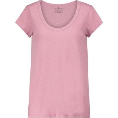 ベルベット グラハム&スペンサー Velvet レディース Tシャツ トップス kira cotton t-shirt Bubble