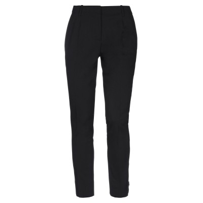 プラダ PRADA パンツ ブラック 42 バージンウール 98% / ポリウレタン 2% パンツ