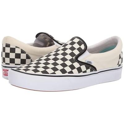 バンズ ComfyCush Slip-On メンズ スニーカー 靴 シューズ (Classic) Checkerboard/True White