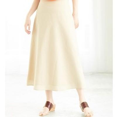 ロペピクニック(ROPE' PICNIC)/【WEB限定】綿麻ロングフレアスカート