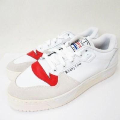 【中古】未使用品 アディダス adidas originals RIVALRY LOW EF6418 US 9 1/2 27.5cm リバルリー ロー スニーカー 靴