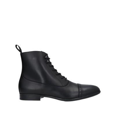 デュカルス DOUCAL'S ショートブーツ ブラック 39 牛革(カーフ) ショートブーツ