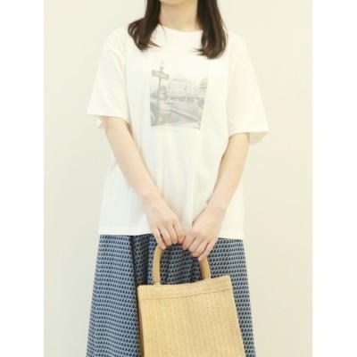 【テチチ/Te chichi】 フォトTee(モノクロ)