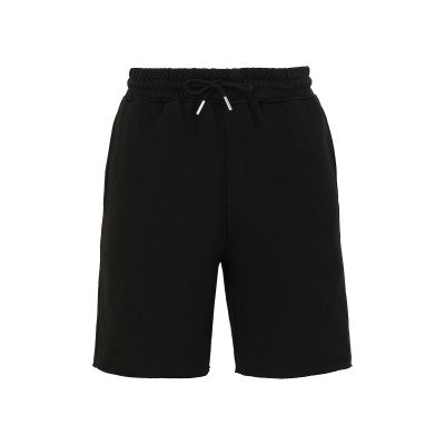 8 by YOOX バミューダパンツ ブラック S オーガニックコットン 100% バミューダパンツ