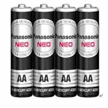 國際牌Panasonic 錳乾電池3號4入(R6NNT/4SC)
