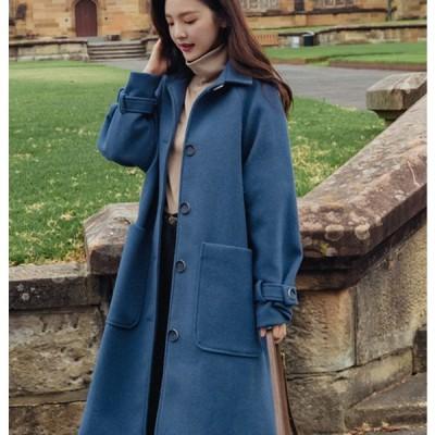 コート レディース コンサバ 冬 チェスターコート Aラインコート ウールコート 大人可愛い  ゆったり 暖か 防寒 シンプル きれいめ おしゃれ 大人カジュアル