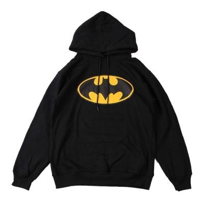 パーカー スウェットパーカ バンド ロック (AG) バットマン BATMAN 1 BLK PARKA 黒