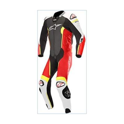 Alpinestars Men's 3150118-1236-60 Suit (Black/White/Red Yellow, Size 60)並行輸入品