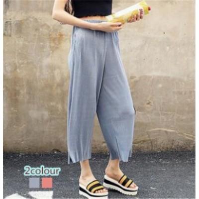 レディースズボン ファッション ワイドパンツ ボトムス シンプル きれいめ 着心地よい お洒落 上質 通勤 春夏秋 大人
