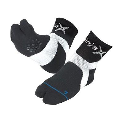 ディーアンドエム(D&M) ninjax バレーボール レシーブ ソックス ブラック 1091 バレーボール専用ギア 靴下
