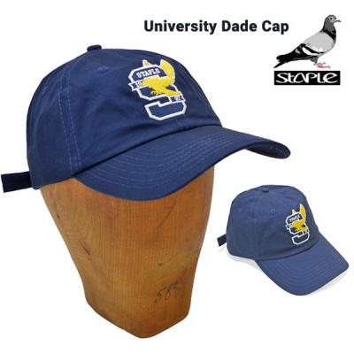 STAPLE ステイプル キャップ UNIVERSITY DAD CAP 帽子 ストラップバックキャップ 6パネルキャップ CAP 2011X6287