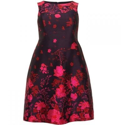 スタジオ8 Studio 8 レディース ワンピース ワンピース・ドレス Heidi Jacquard Dress Navy & Pink
