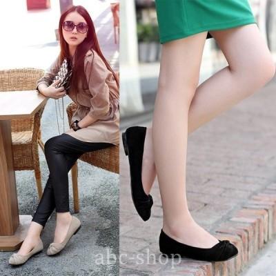 ローヒールぺたんこ靴フラットヒールシューズパンプスレディースフォーマル美脚魅せファッションエレガントフェミニン