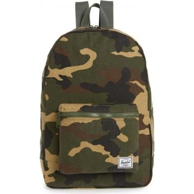 ハーシェル サプライ HERSCHEL SUPPLY CO. レディース バックパック・リュック デイパック バッグ Cotton Casuals Daypack Backpack Woodland Camo
