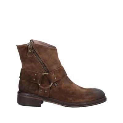 1725.A ショートブーツ ファッション  レディースファッション  レディースシューズ  ブーツ  その他ブーツ ココア